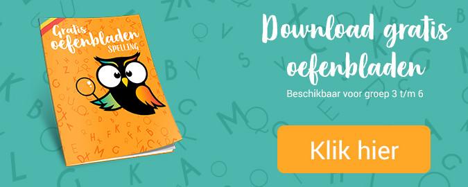 gratis oefenbladen spelling