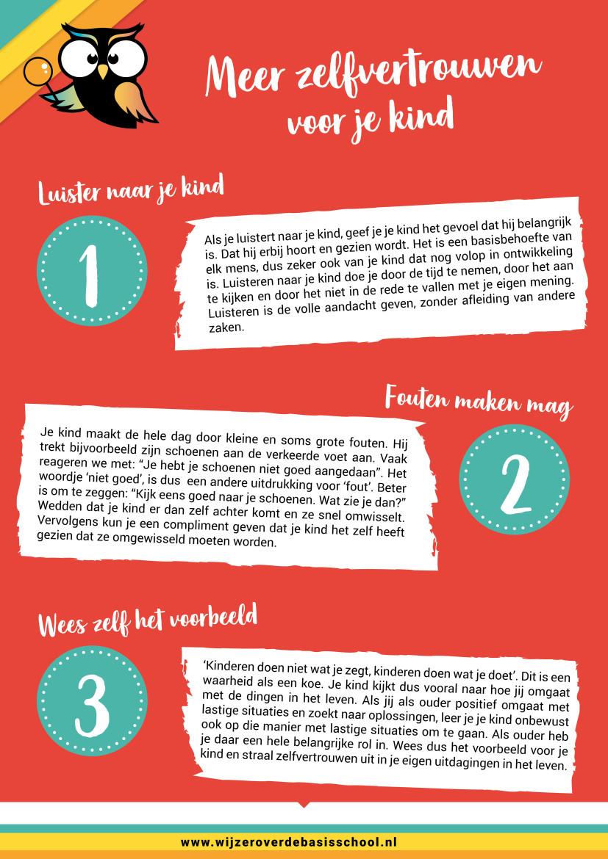 meer zelfvertrouwen voor je kind in 3 stappen