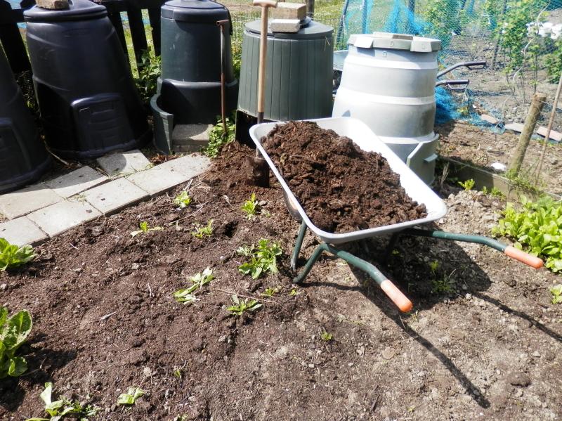 Compost gebruiken