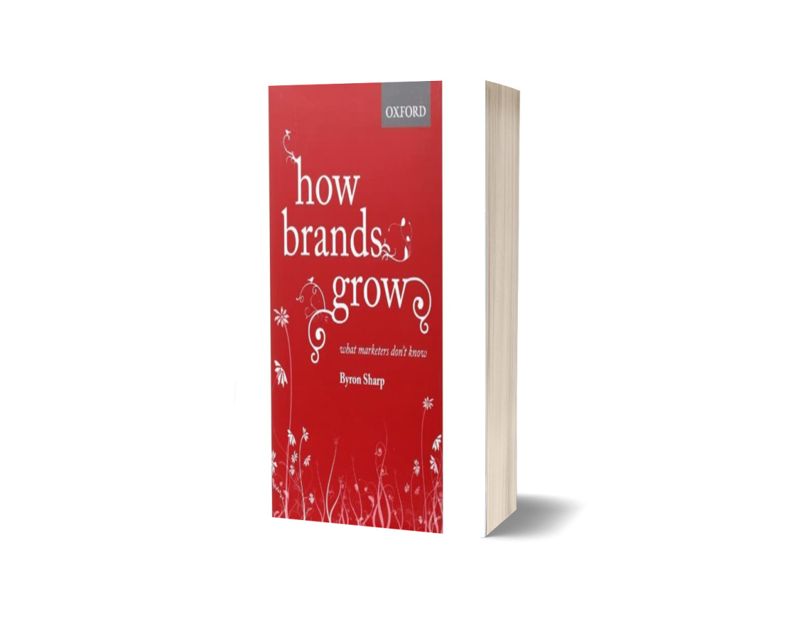 How Brands Grow is een boek van Byron Sharp over branding