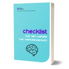 Checklist voor een website met overtuigingskracht