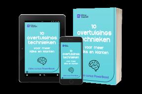 Videocursus en eBook 10 overtuigingstechnieken voor meer kliks en klanten