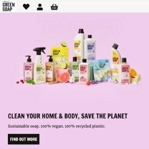 Marcel's green soap is bijzonder: duurzaam, vegan, recycled plastic