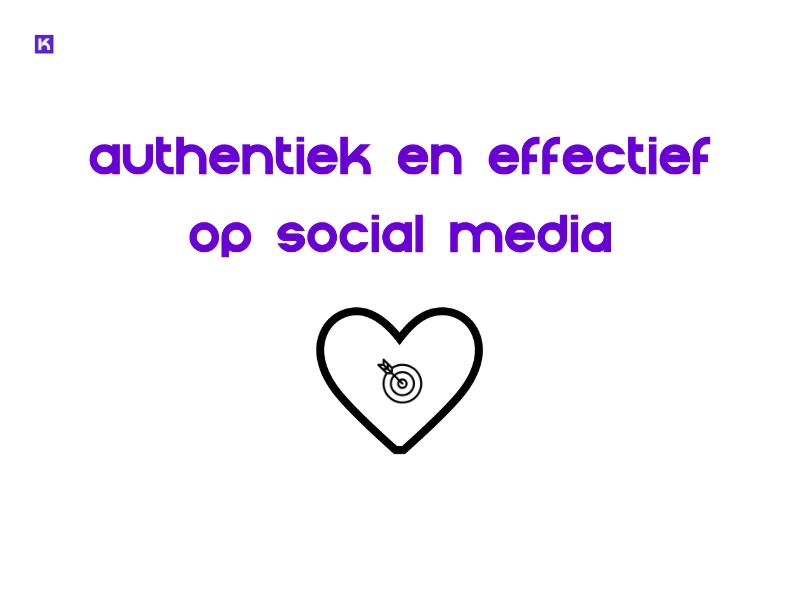 stap 6: authentiek en effectief