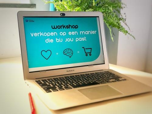 Workshop Verkopen op een manier die bij jou past online volgen op je laptop