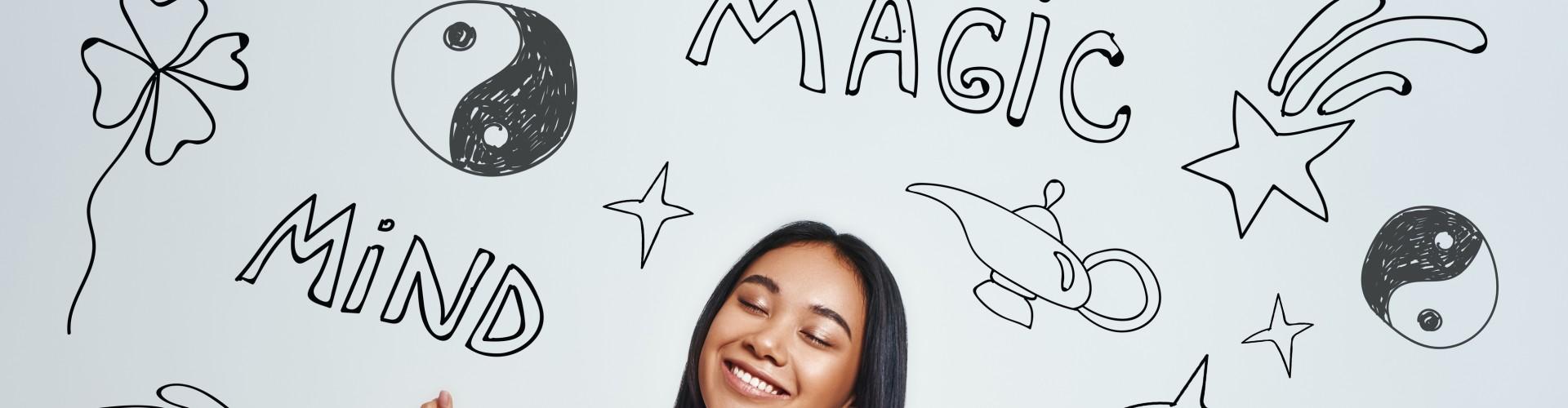 Mentalisme van Magic Smiling World
