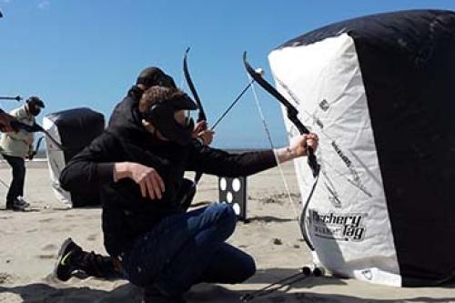 Blokarten en ArcheryTag