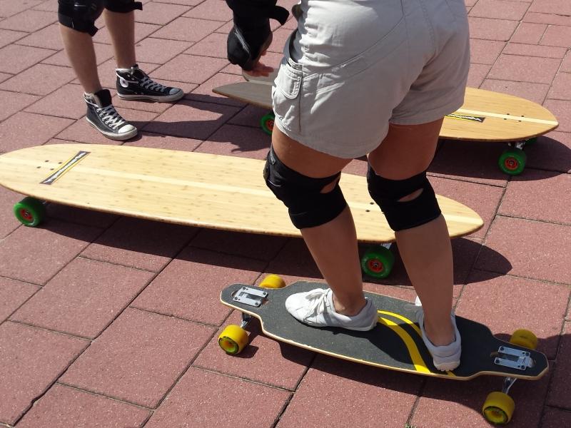 skateboarden en longboarden
