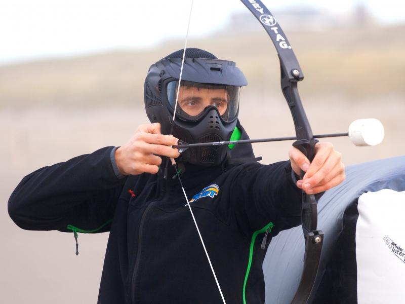 ArcheryTag voorkant schutter