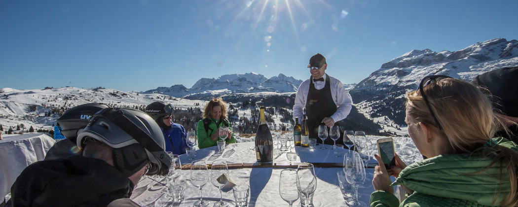 Sommeliers on the Slopes