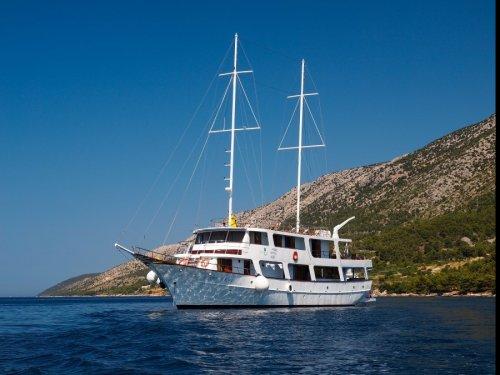 Wijn- en Gastronomische cruises langs de Kroatische kust