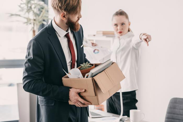 verstoorde relatie op het werk