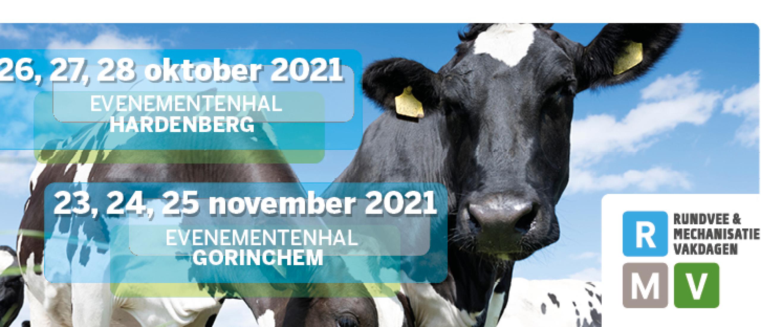 Noteer in uw agenda: 26, 27  en 28 oktober vindt u ons op Rundvee & Mechanisatie Vakdagen (RMV) Hardenberg.
