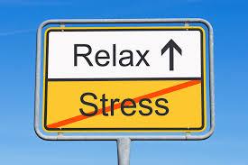 Hanteer stress door te relaxen!