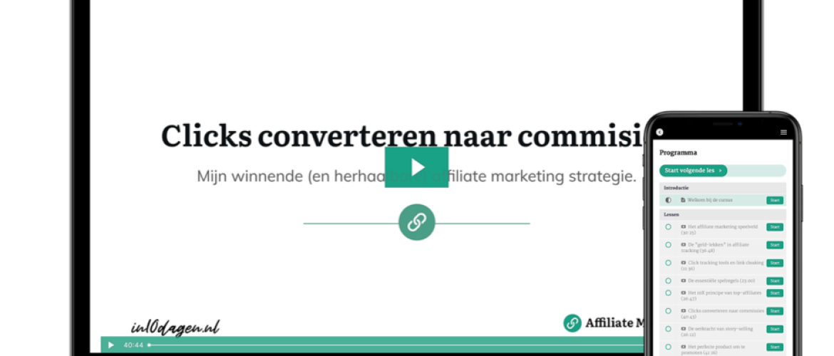 Affiliate Marketing in 10 dagen review - Starten met Affiliate marketing?