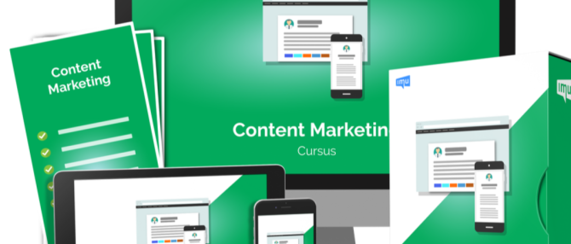 Content marketing cursus Review IMU - Goede cursus of niet?