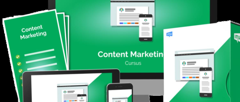 Content marketing cursus Review IMU - Goede cursus of niet?