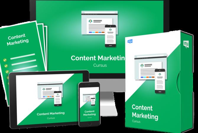 Content marketing cursus IMU