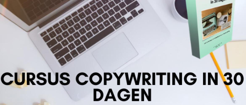 Copywriting in 30 dagen cursus review - verdien meer met je teksten!