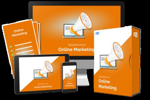 Spoedcursus online marketing