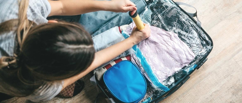 De backpack effectief inpakken met vacuümzakken