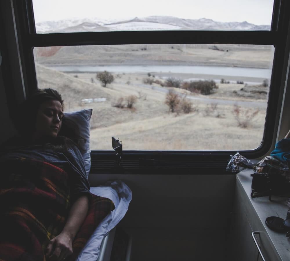 Beter slapen tijdens het reizen