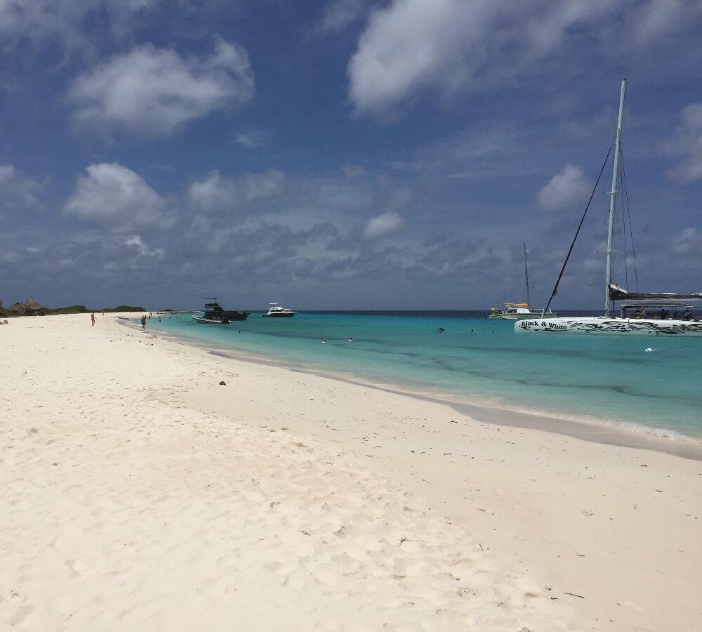 Boottrips naar Klein Curaçao