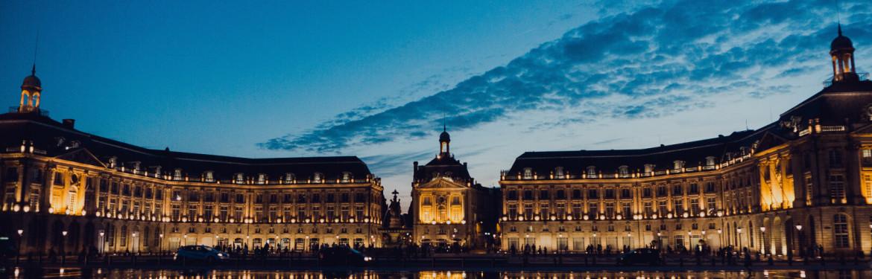 Op nummer 9 van de grootste steden in Frankrijk: Bordeaux