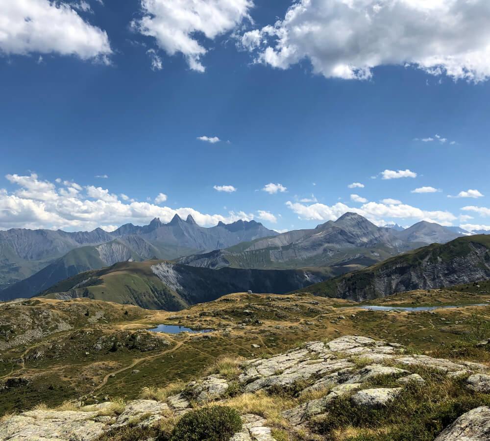 De top van de Col de la Croix de Fer