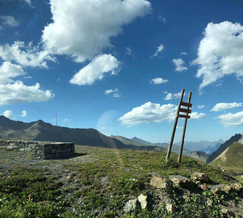 Via de Col du Telegraphe naar de Col du Galibier rijden