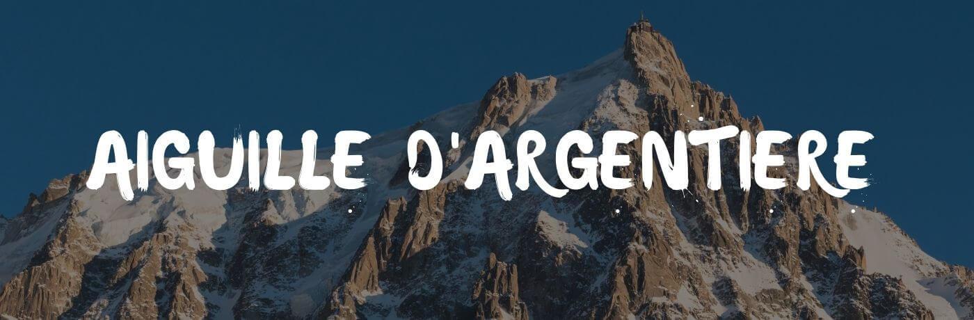 Aiguille d'Árgentiere: de 9e berg van Frankrijk