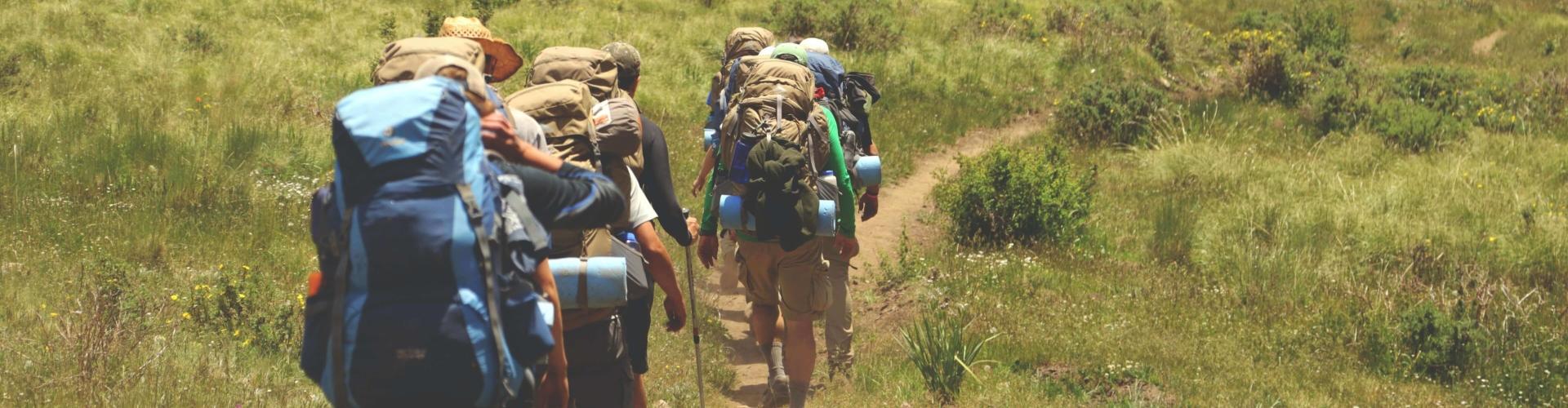 Outdoor reizen: hiken