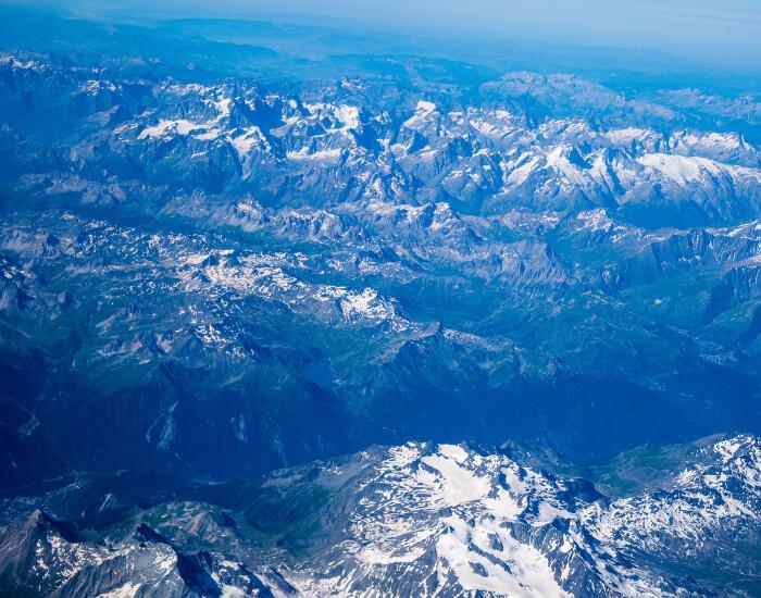 Hoogste bergen van Frankrijk