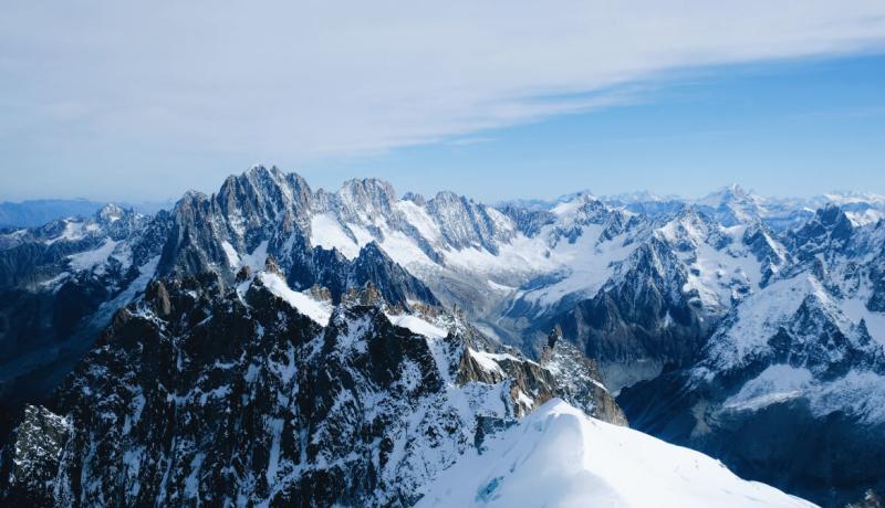 De 10 hoogste bergen van Frankrijk