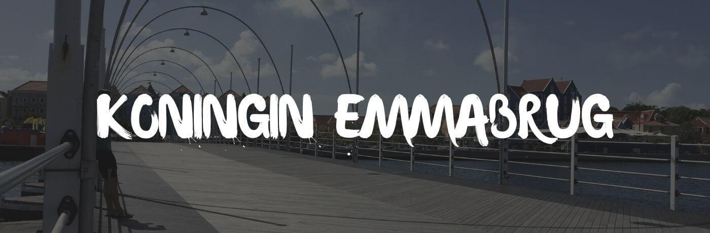 De Koningin Emmabrug op Curaçao