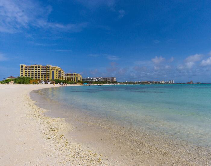 Reizen door Aruba