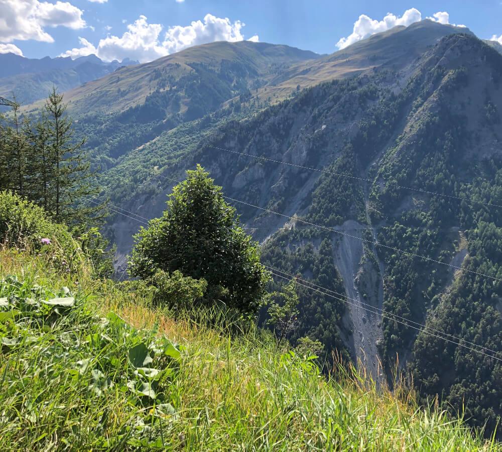 De weg naar Saint Jean de Maurienne