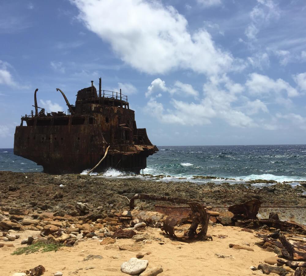 Scheepswrakken op Klein Curaçao