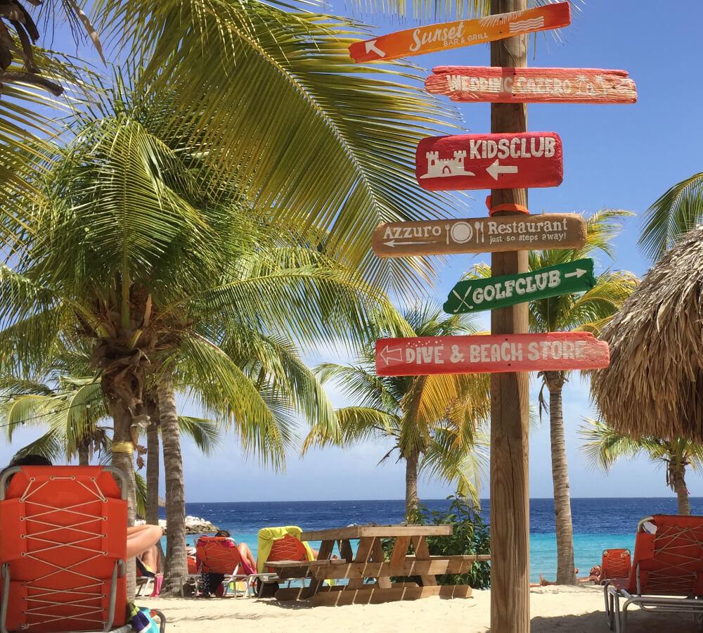 Stage lopen op Curaçao