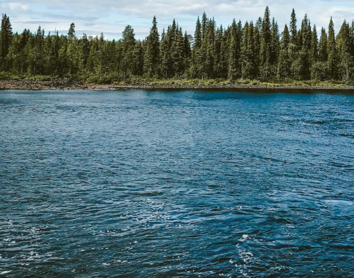 De Torne älv rivier: een onontdekt stukje zweden