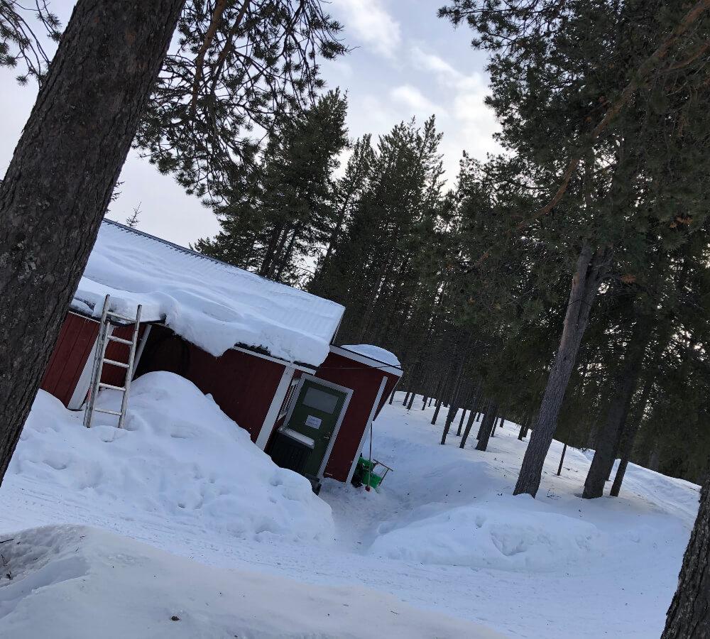 Wanneer ligt er sneeuw in Lapland?