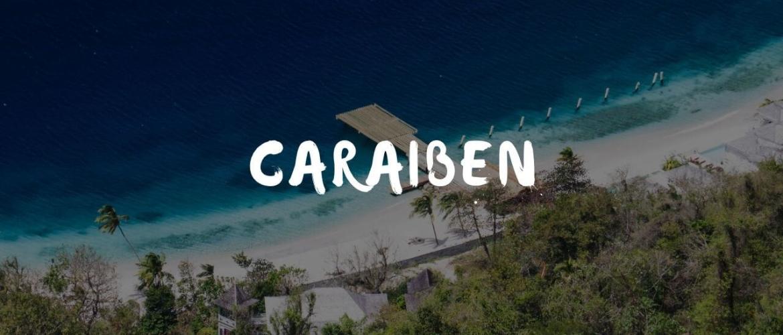 Welke landen liggen in de Caraïben?