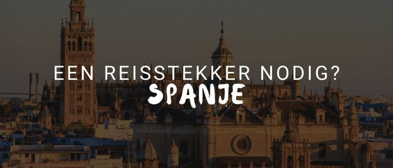 Heb je een wereldstekker nodig in Spanje?
