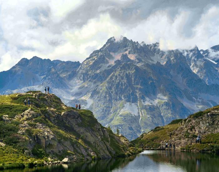 Hiken op de Alpe d'Huez