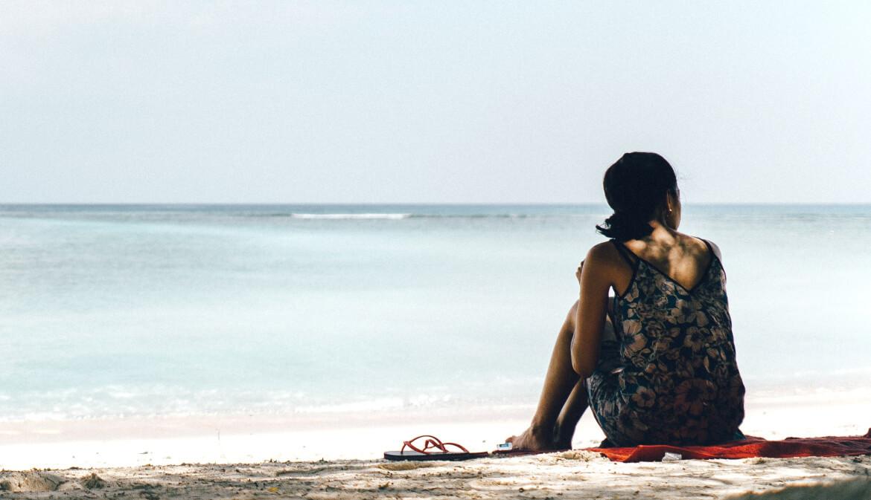 Een sneldrogende handdoek voor op het strand of in een hostel