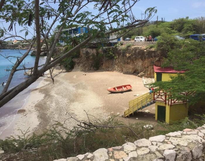 Playa Forti: klif springen