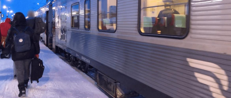 Met de nachttrein naar Zweeds Lapland: van Stockholm naar Kiruna