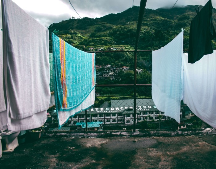 Microvezel handdoeken voor het reizen