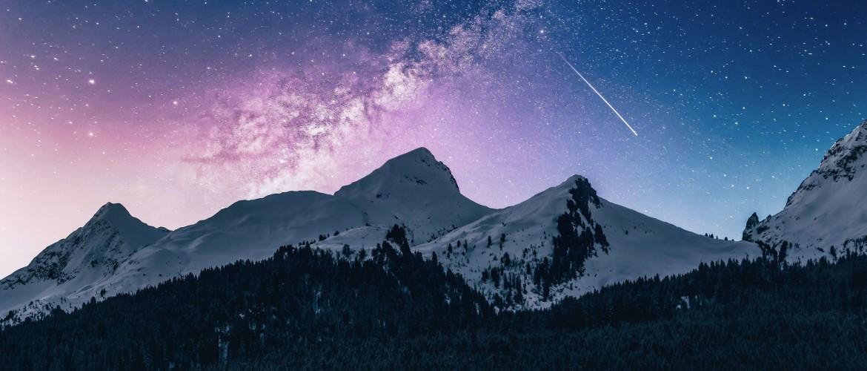 Je verwonderen over de sterrenhemel in het Franse Vaujany