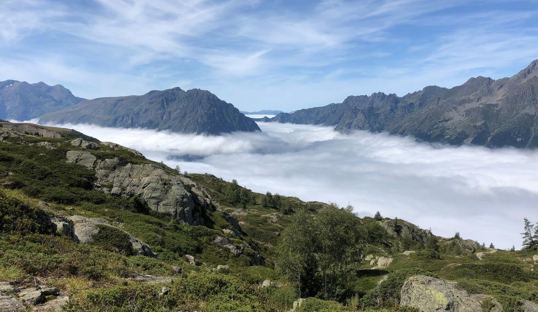 Tot rust komen in de bergen